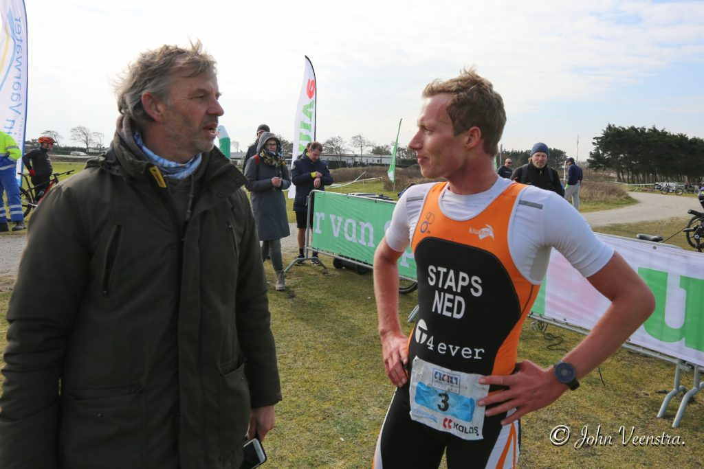 Finish crossduathlon Ameland 2020